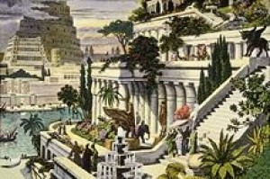 Semiramidine visuté záhrady